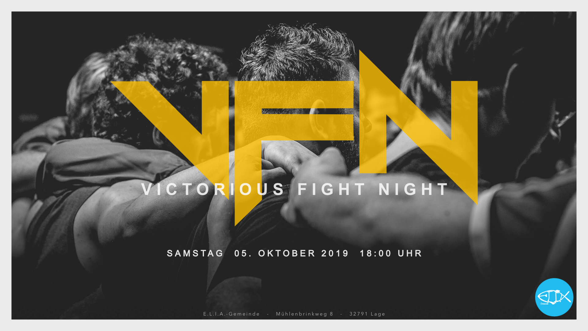 E.L.I.A.-Männertag – Victorious Fight Night