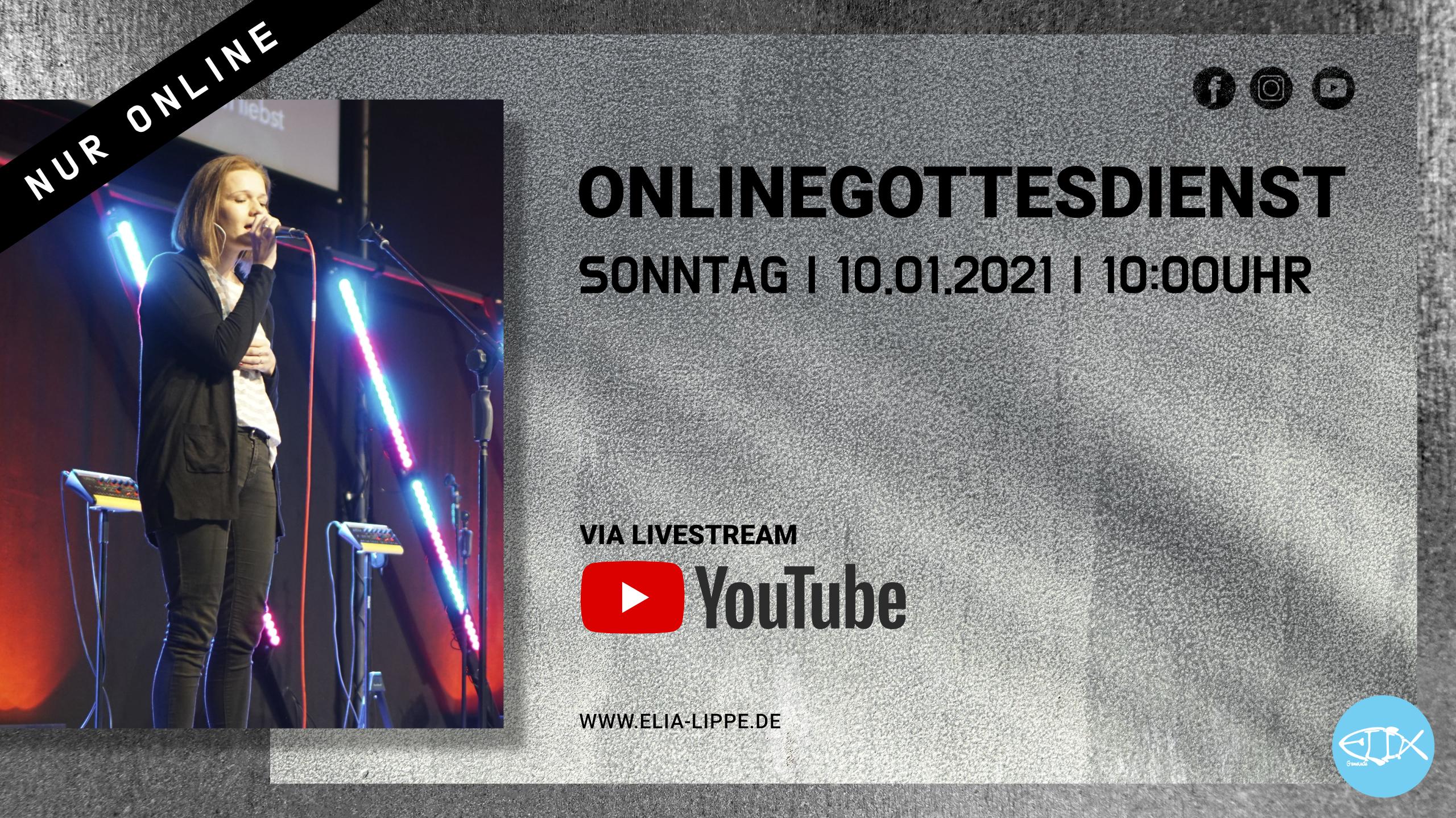 ONLINEGOTTESDIENST | 10.01.2021 |10:00UHR