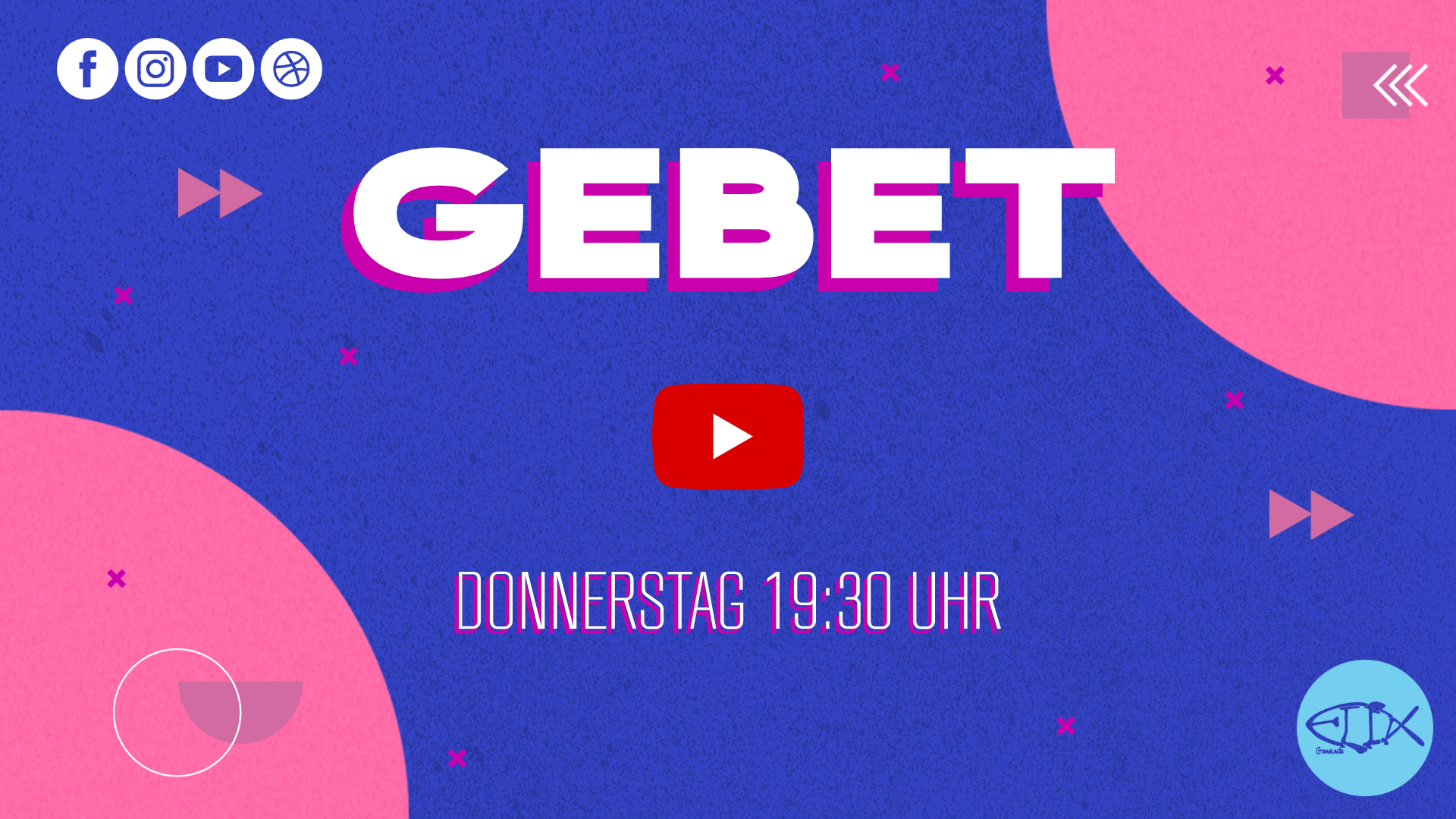 GEBET ONLINE |DONNERSTAG 19:30UHR