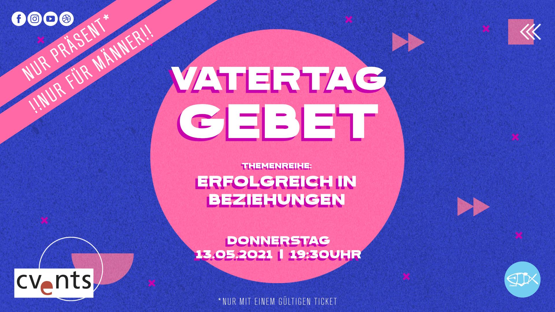 VATERTAG |GEBET | NUR FÜR MÄNNER
