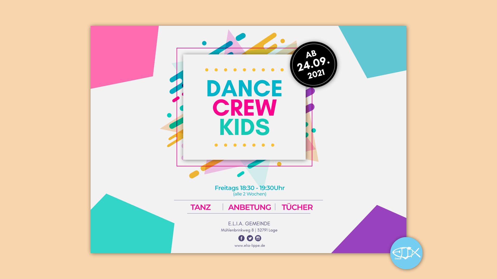 DanceCrewKids ab dem 24.09.2021